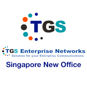 TGS Singapore New Office